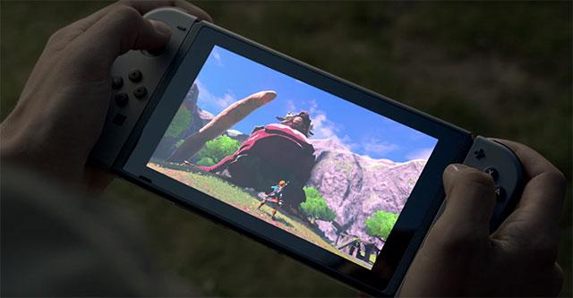 Dimensões da Nintendo Switch