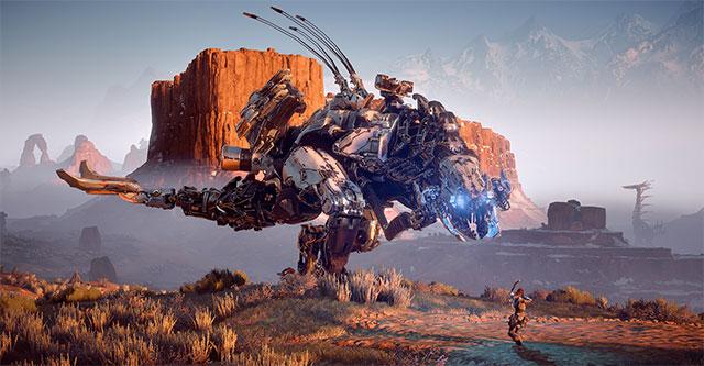 """Horizon: Zero Dawn - """"Evolução das Máquinas"""""""