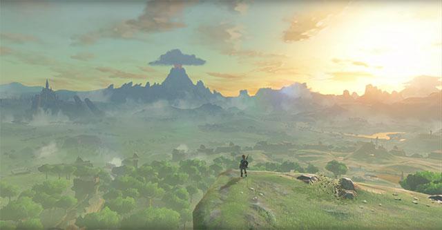 The Legend of Zelda: Breath of the Wild - vídeos do ambiente e exploração
