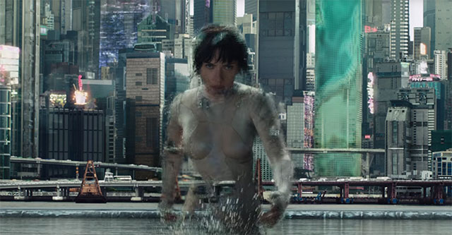 Ghost in the Shell Live-action - Teaser mostra fato de camuflagem ativa