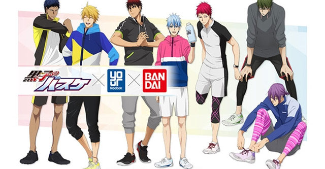 Reebok lança sneakers de Kuroko's Basketball