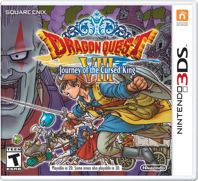 Dragon Quest VIII para 3DS em Janeiro