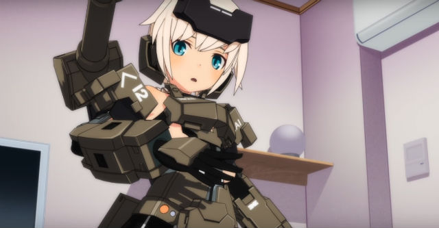 Frame Arms Girl vai ser anime
