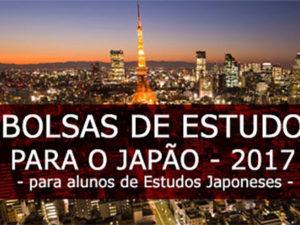 Bolsas de Estudo para o Japão - 2017