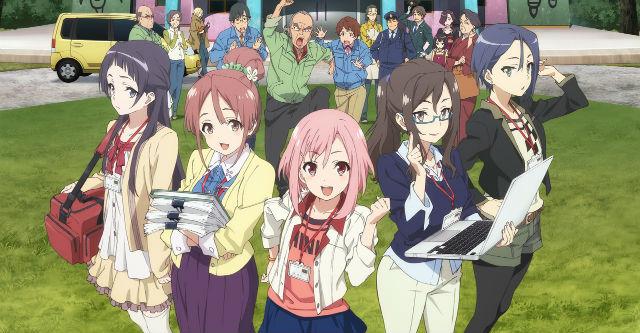 Sakura Quest - Nova imagem promocional