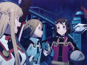 Sword Art Online: Ordinal Scale foi o filme mais visto este fim-de-semana