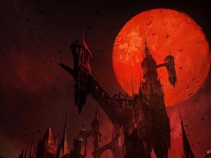 Castlevania - Poster da série pela Netflix