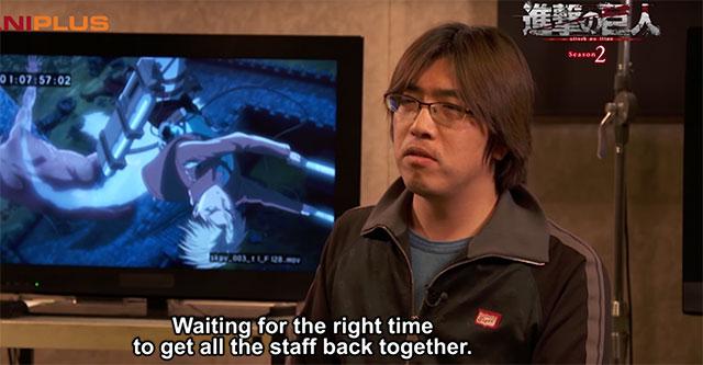 Attack on Titan 2 - Entrevista ao diretor