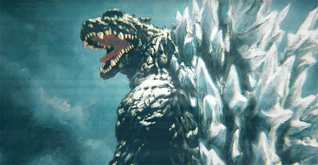 Vídeo promocional dos filmes anime de Godzilla