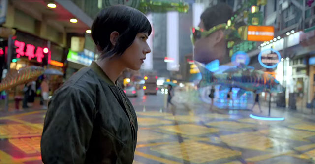 """Ghost in the Shell Live-action - Trailer """"Steve Aoki"""""""