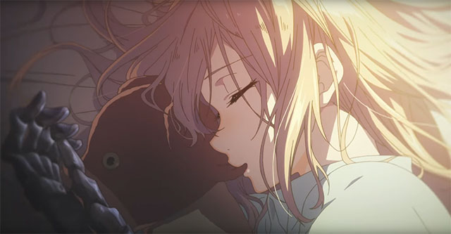 Violet Evergarden - Trailer da Novel