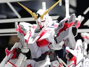 RX-0 Unicorn Gundam à escala real