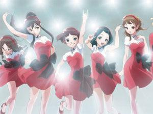 Imagem promocional da nova série de Wake Up, Girls!