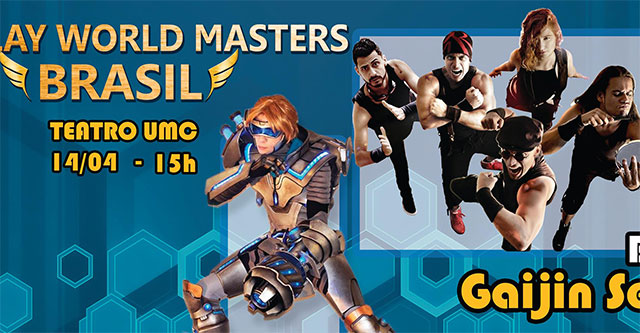 Cosplay World Masters Brasil 2017 - 15 de Abril