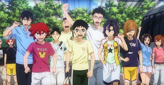 Traier do arco Inter High de Yowamushi Pedal New Generation
