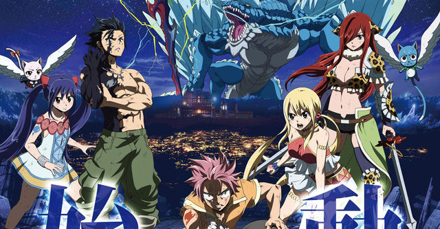 Fairy Tail: Dragon Cry - Nova imagem promocional