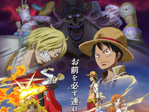 Imagem promocional do arco Whole Cake Island de One Piece