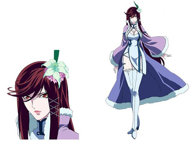 Shizuka Itou como Ice Raider