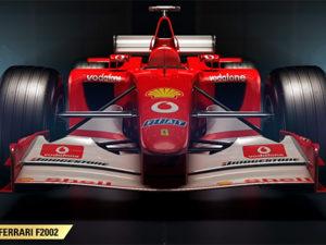 F1 2017 vai ter carros clássicos