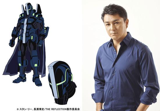 Satoshi Mikami é Ian Izett / I-GUY, uma pessoa que tem o poder de usar a sua voz para gerar uma explosão concussiva ao seu redor. Ele usa usa uma armadura motorizada que melhora a sua voz concussiva. A sua verdadeira identidade é uma famosa estrela do rock.