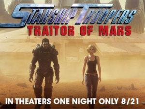 Starship Troopers: Traitor of Mars por Shinji Aramaki