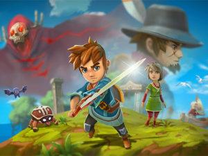 Oceanhorn na Nintendo Switch a 22 de Junho