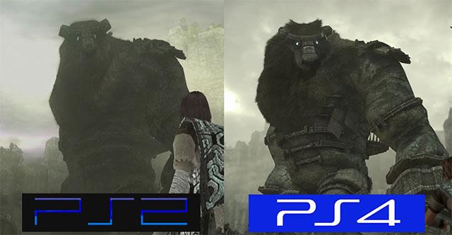 Comparação Shadow of the Colossus original Vs remake