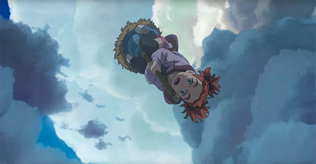 Mary and the Witch's Flower - 4º trailer