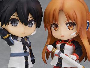 Kirito & Asuna: O.S Ver. pela Good Smile Company