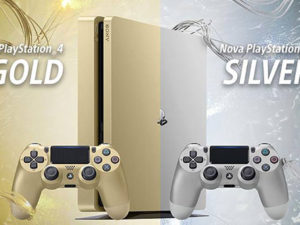 PlayStation 4 Gold e Silver