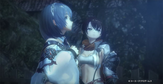 Nights of Azure 2 - Trailer comparativo