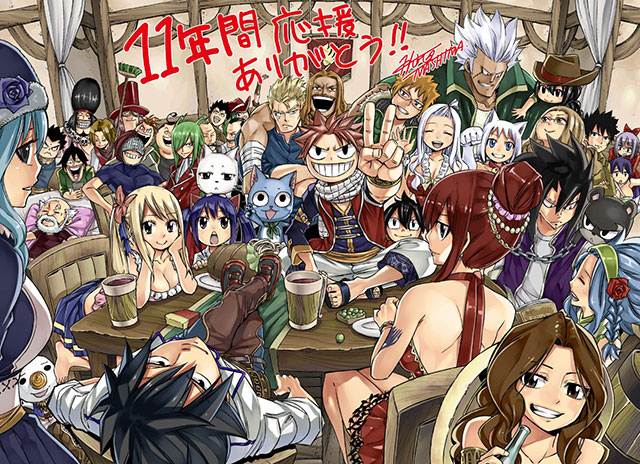 Autor de Fairy Tail partilha última página colorida do manga