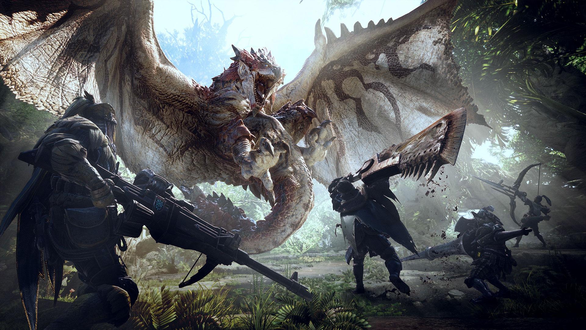 World mostra suas 14 armas em novos vídeos de gameplay — Monster Hunter
