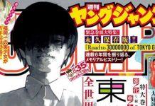 Tokyo Ghoul com 30 milhões de cópias