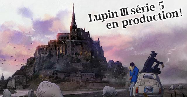 Lupin III vai ter 5ª série anime