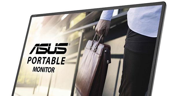 ASUS revela novo ecrã portátil