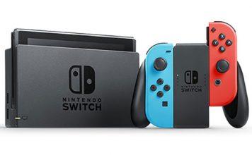 4.7 milhões de Nintendo Switch em todo o mundo