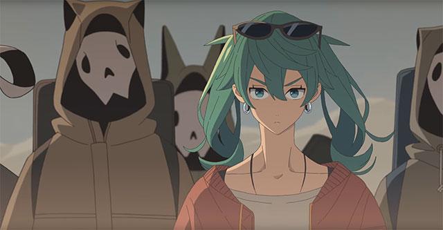 Hatsune Miku versão pós-apocalíptica