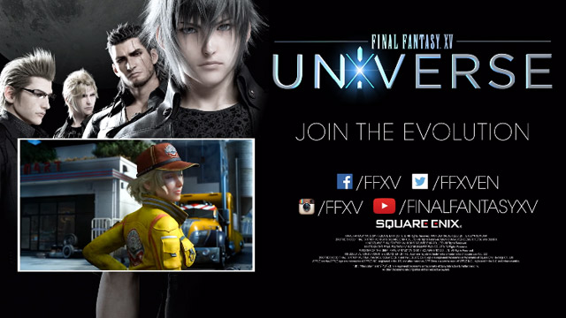 Square Enix dá indícios de Final Fantasy XV no Switch