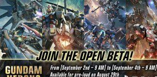 Gundam Versus - Beta em Setembro