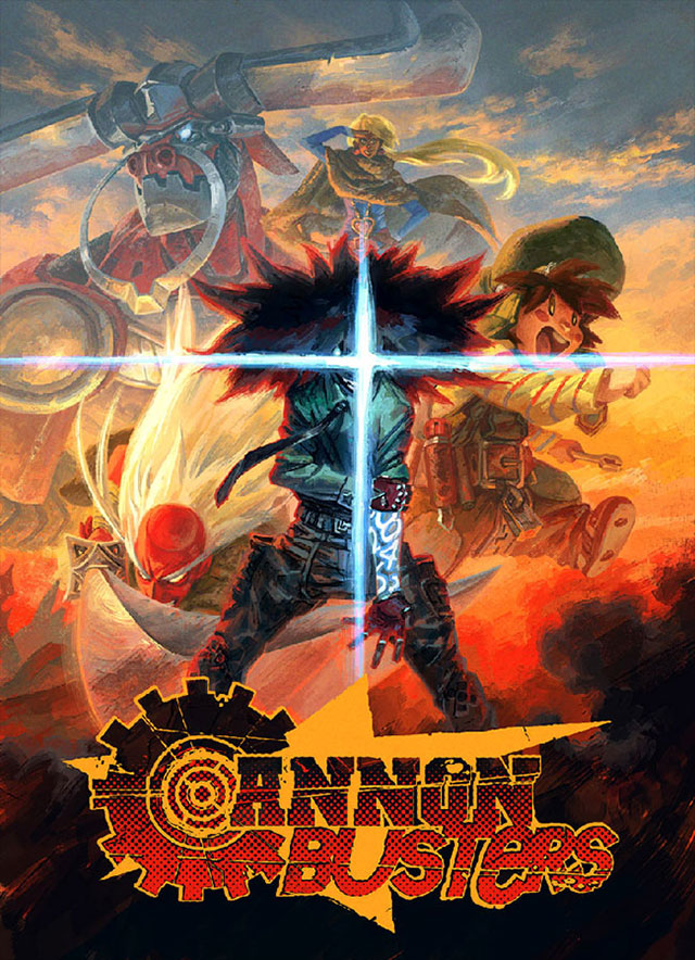Cannon Busters: The Animated Series na Netflix