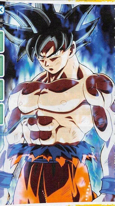 Nova transformação de Son Goku