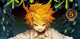 Yakusoku no Neverland tem 1.5 milhões de cópias