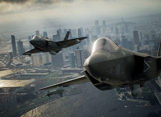 Ace Combat 7 mostra F-2A e F-35C