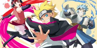 Calendário Boruto Naruto Next Generations de Setembro 2017
