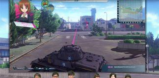 Girls und Panzer: Dream Tank Match - Gameplay