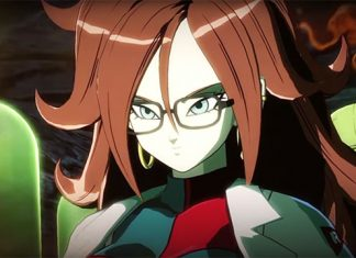 Trailer de Dragon Ball FighterZ com a Android 21