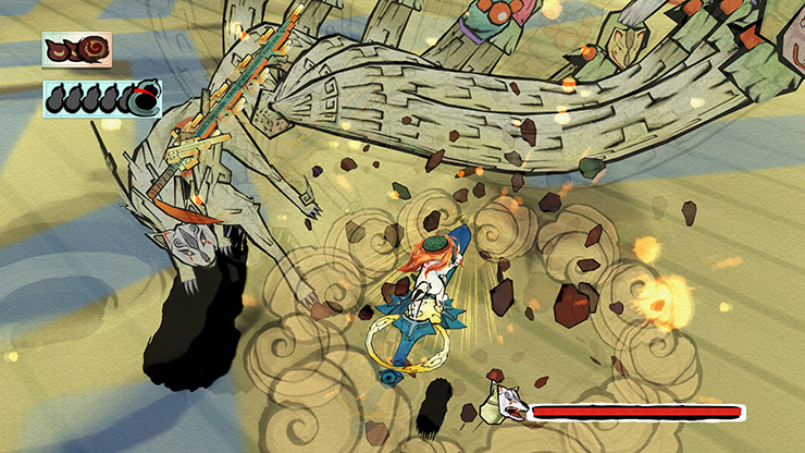 Okami HD anunciado para PC, PS4 e Xbox One