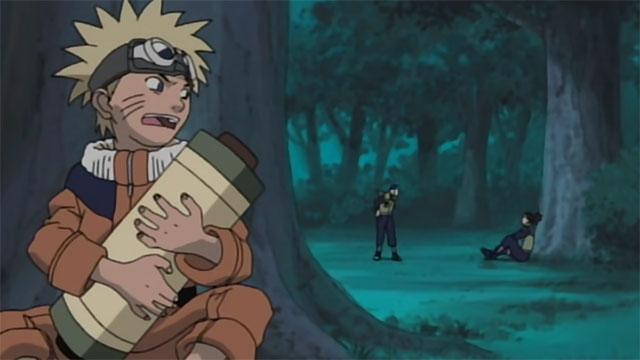 Ladrão culpa Naruto