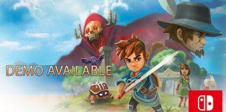 Oceanhorn com Demo para Nintendo Switch